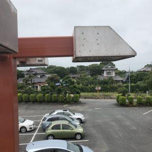 神栖市 ゴルフ練習場 外灯更新工事