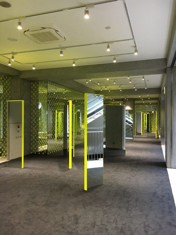 渋谷テナント電気工事施工(LV期間限定店舗)
